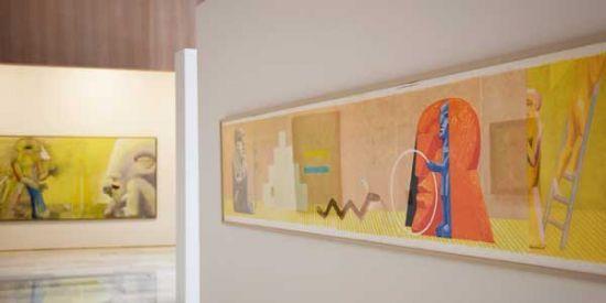 Horst Antes - Bilder und Skulpturen der Sammlung Würth