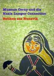 Museum Cerny e il collegamento con Kuala Lumpur: Batik da Nunavik