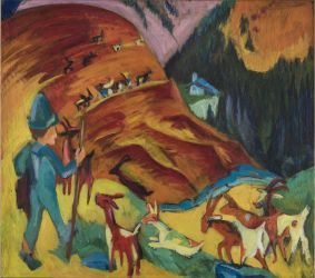 Ernst Ludwig Kirchner and the Grandeur of the Mountains