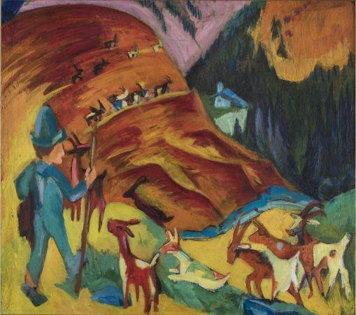 Ernst Ludwig Kirchner e la grandiosità della montagna