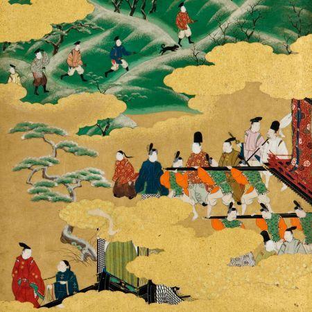 Liebe, Kriege, Festlichkeiten – Narrative Kunst aus Japan