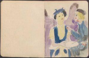 Kirchner's Sketchbooks. From Pencil Stroke to Hologram