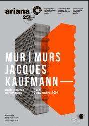 Mur - murs. Jacques Kaufmann