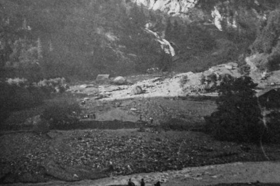 Unwetterkatastrophe Schwendi 1906