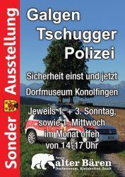 Galgen, Tschugger, Polizei