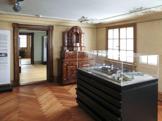 Dauerausstellung: Kloster- und Siedlungsgeschichte