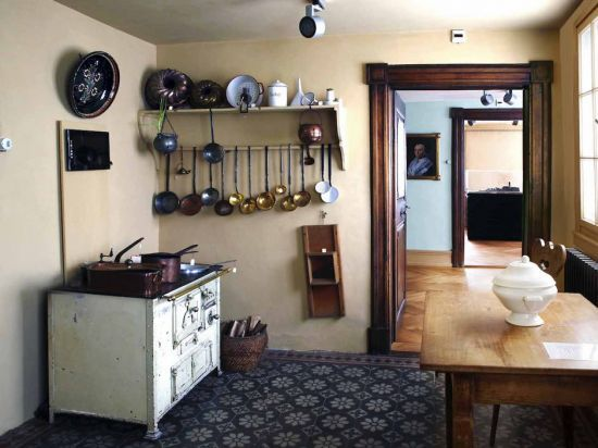 Dauerausstellung: Historische Küche