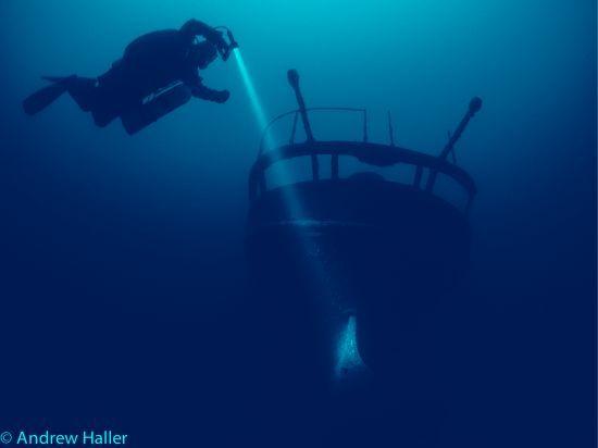 Geschichten vom Seegrund. Das Dampfschiff JURA