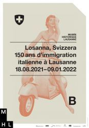 Losanna, Svizzera - 150 ans d'immigration italienne à Lausanne