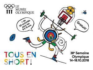 Bienvenue à ta Semaine Olympique, du 14 au 18 octobre
