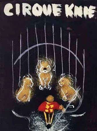 Die Zirkus KNIE–Plakatentwürfe des Lenzburger Künstlers Hans E. Walty