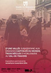 Trois siècles d'horlogerie au Val-de-Travers