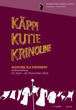 Käppi, Kutte, Krinoline - Kleidung als Statement