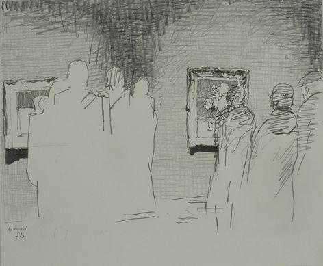 Linien bündeln – Zeichnungen aus der Sammlung