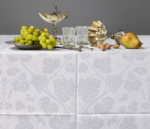 The Delights of Dining - Historical Linen Damasks