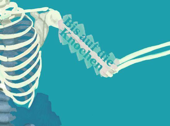 Bis auf die Knochen. Was Gräber erzählen