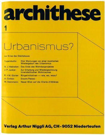 archithese – die frühen Jahre