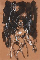 Kara Walker., Zeichnungen 1993-2020. A Black Hole is Everything a Star Longs to Be