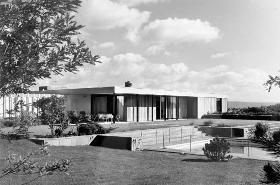 La vie moderne. Maisons individuelles à Bâle et dans les environs 1945-1975