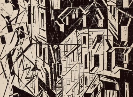 Lyonel Feininger The City and the  Sea