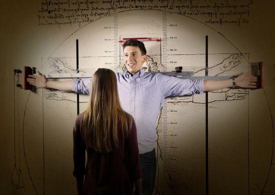 Sonderausstellung - «Der vermessen(d)e Mensch»