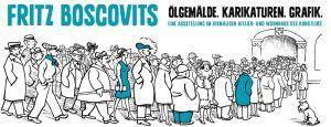 Fritz Boscovits - Ölgemälde. Karikaturen. Grafik.