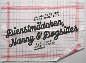 Dienstmädchen, Nanny & Dogsitter. Haus-Dienst-Leistungen im Wandel