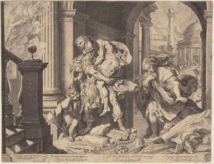Crossing Parallels. Agostino Carracci and Hendrick Goltzius