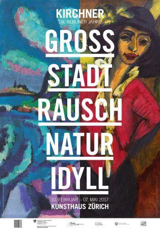 Grossstadtrausch / Naturidyll. Kirchner - Die Berliner Jahre