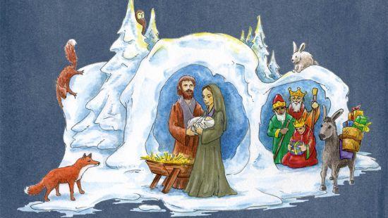 Weihnachten und Krippen