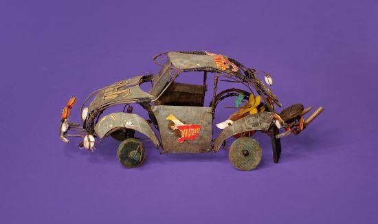 Auto Didaktika. Drahtmodelle aus Burundi