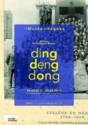 Ding deng dong... 250 ans du Collège de Bagnes
