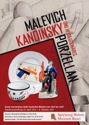 Malevich, Kandinsky e la porcellana rivoluzionaria