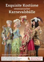 Exquisite Kostüme venezianischer Karnevalsbälle