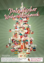 Patriotischer Weihnachtsschmuck