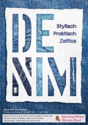 Denim – stylish, practical, timeless - Blue fabric with a history