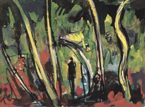 Carl Walter Liner - Guazzi e acquerelli
