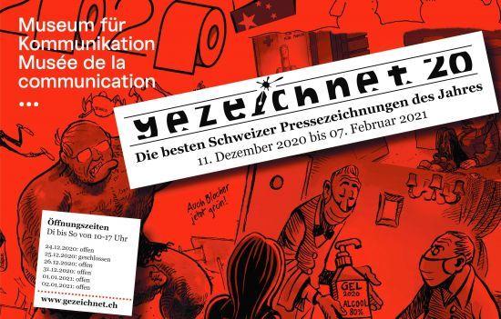 Gezeichnet 2020: Die besten Schweizer Pressezeichnungen des Jahres