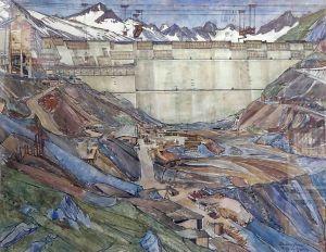 Baustelle Fortschritt.   Emil Zbinden und der Staumauerbau Grimsel-Oberaar