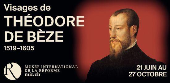 Visages de Théodore de Bèze 1519-1605
