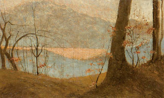 Vittore Grubicy de Dragon: Inverno a Miazzina, 1898