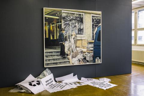 Blick Ausstellung «Erico Schommer & Levent Pinarci» 2015