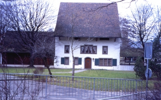 Untervogtsgebäude um 1600 erbaut durch Sebastian Gysi.
