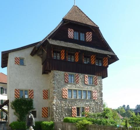 Frontansicht Schloss Beromünster