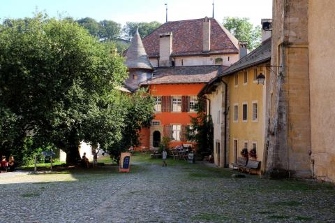 Maison du Prieur - Cour du Cloître 20 - 1323 Romainmôtier