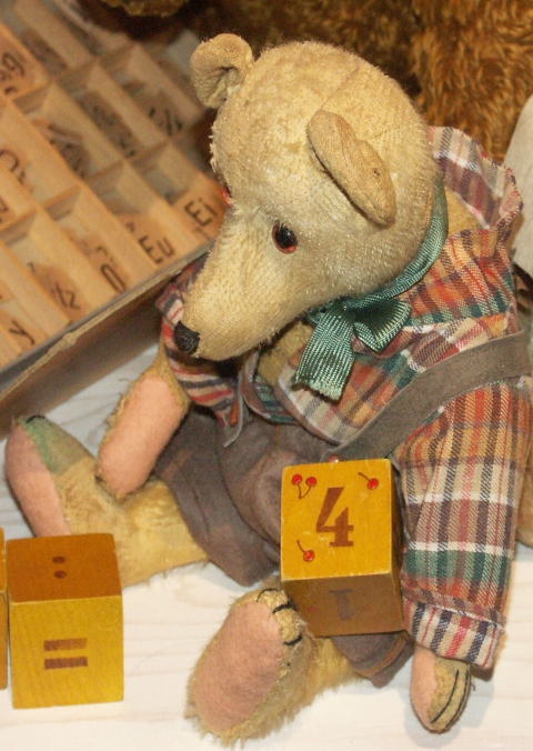 Szene Bärenschule Teddybärmuseum Baden