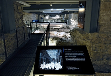 Le site archéologique et son parcours de visite