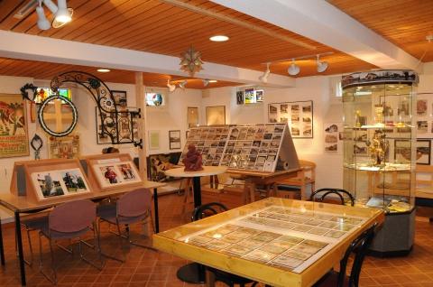 Innenansicht des Museumsraums