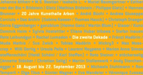 20 Jahre Kunsthalle Arbon