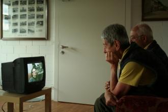 Installation mit Interviews, Int. Museumstag 2009